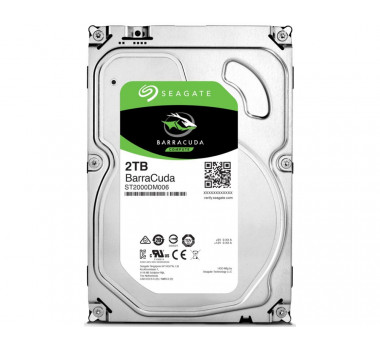 HD Interno | Seagate | Desktop Barracuda | 2TB | 7200 RPM | MPN: ST2000DM006