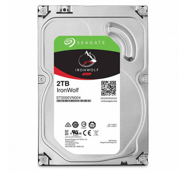 HD Interno | Seagate Ironwolf | 2TB | Ideal para NAS | MPN: ST2000VN004