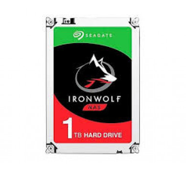 HD Interno Seagate | IronWolf | 1TB | Ideal Para NAS | 64 MB | MPN: ST1000VN002