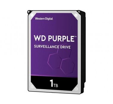 HD Interno | WD Purple | 1TB | Ideal para vigilância | MPN: WD10PURZ
