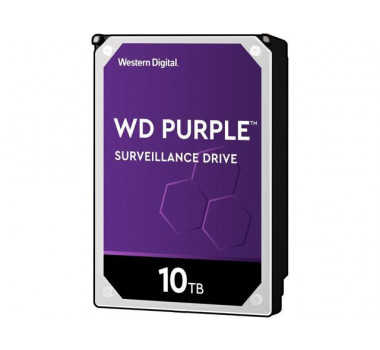 HD Interno | WD Purple | 10TB | Ideal para vigilância | MPN: WD100PURZ