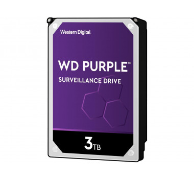 HD Interno | WD Purple | 3TB | Ideal para vigilância | MPN: WD30PURX
