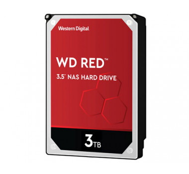 HD Interno | WD RED | 3TB | Ideal para NAS | MPN: WD30EFRX