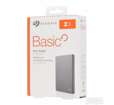 HD PORTÁTIL | SEAGATE | BASIC | 2TB | USB 3.0 | PC/MAC | MPN: STJL2000400