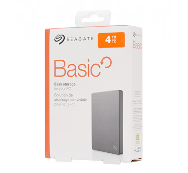 HD PORTÁTIL | SEAGATE | BASIC | 4TB | USB 3.0 | PC/MAC | MPN: STJL4000400