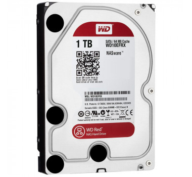 HD Interno   WD RED   1TB   Ideal para NAS   MPN: WD10EFRX