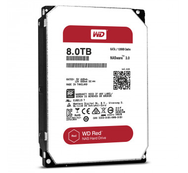 HD Interno | WD Red | 8TB | Ideal Para Nas | MPN: WD80EFZX