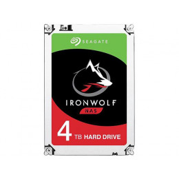 HD Interno Seagate | IronWolf | 4TB | Ideal Para NAS | 64 MB | MPN: ST4000VN008