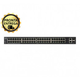 Switch Cisco SG220 | 48 Portas Gigabit | 2x SFP | Layer 2 | Gerenciável | MPN: SG220-50-K9-BR
