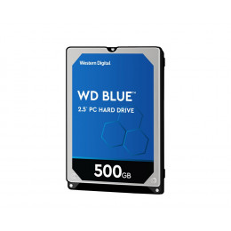 HD Interno WD Blue | 500GB | Para Notebook | MPN: WD5000LPCX