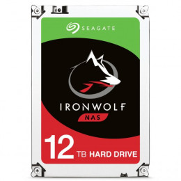 HD Interno   Seagate Ironwolf   12TB   Ideal para NAS   7200 RPM   256 MB   MPN: ST12000VN0008