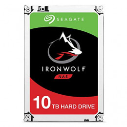 HD Interno | Seagate | 10TB | IronWolf | Ideal Para NAS | 7200 RPM | 256 MB | MPN: ST10000VN0004
