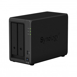 NAS Synology | DiskStation DS720+ | 2 Baias | CPU Intel Celeron Quad-Core 2.0GHz | 2GB DDR4 | Sem Discos