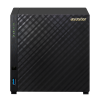NAS Asustor | AS1004T V2 | 8TB | CPU Dual-Core 1.6 Ghz | 512MB RAM | Inclui 4 HDs de 2TB