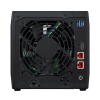 NAS Asustor | AS5304T | 24TB | 2 portas de 2,5 GbE | CPU Intel Quad-Core 1,5 GHz | 4GB DDR4 | Inclui 4 HDs NAS de 6TB