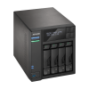 NAS Asustor | AS6404T | 32TB | CPU Intel Quad-Core 1.5 Ghz | 8GB RAM | Inclui 4 HDs NAS de 8TB
