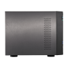 NAS Asustor | AS6404T | 24TB | CPU Intel Quad-Core 1.5 Ghz | 8GB RAM | Inclui 4 HDs NAS de 6TB