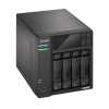 NAS Asustor | Lockerstor 4 AS6604T | 16TB | CPU Intel Quad-Core 2.0 GHz | 4GB DDR4 | 2x 2.5GbE | Inclui 4 HDs NAS de 4TB