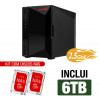 NAS Asustor | Nimbustor 2 AS5202T | 6TB | 2x 2,5 GbE | CPU Intel Dual-Core 2.0 GHz | 2GB DDR4 | Inclui 2 HDs NAS de 3TB
